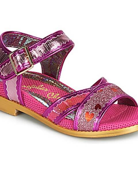 Ružové sandále Irregular Choice