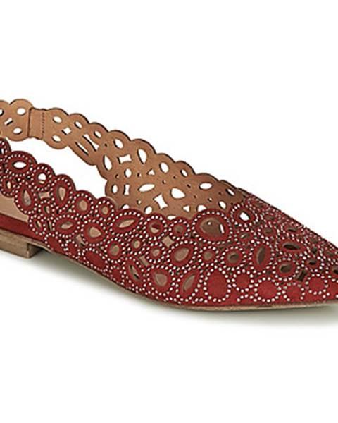 Červené sandále Mimmu