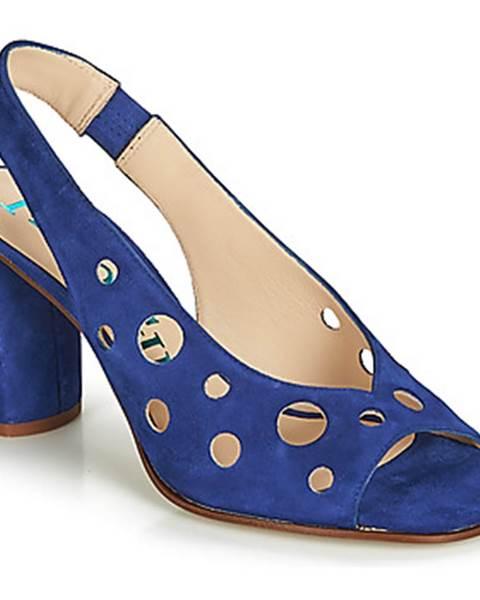 Modré sandále Paco Gil