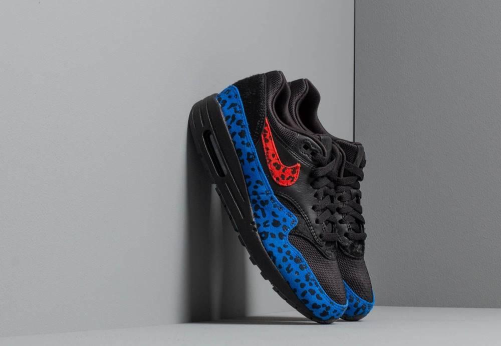 Nike Nike W Air Max 1 Premium Black/ Habanero Red