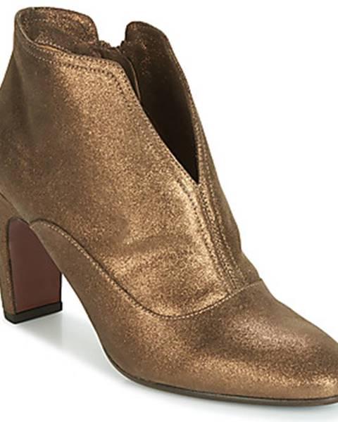Zlaté topánky Chie Mihara