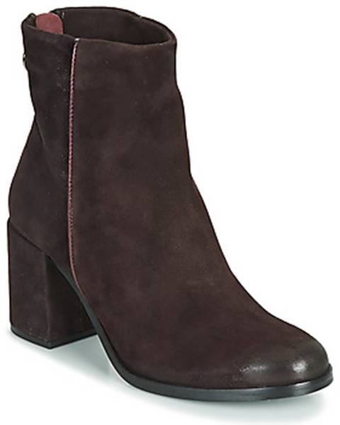 Bordové topánky Mjus