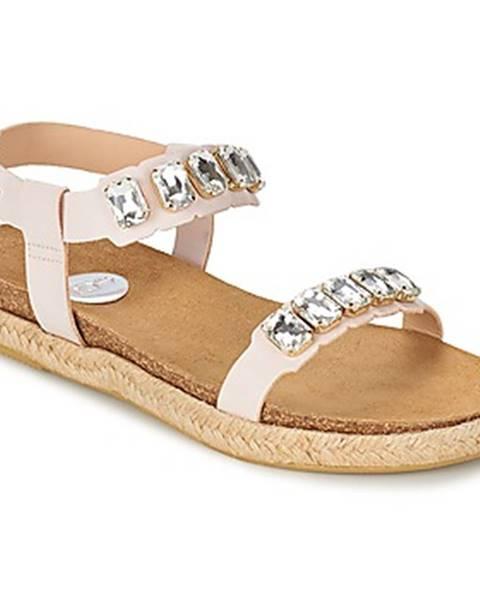 Biele sandále RAS