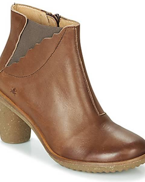 Hnedé topánky El Naturalista