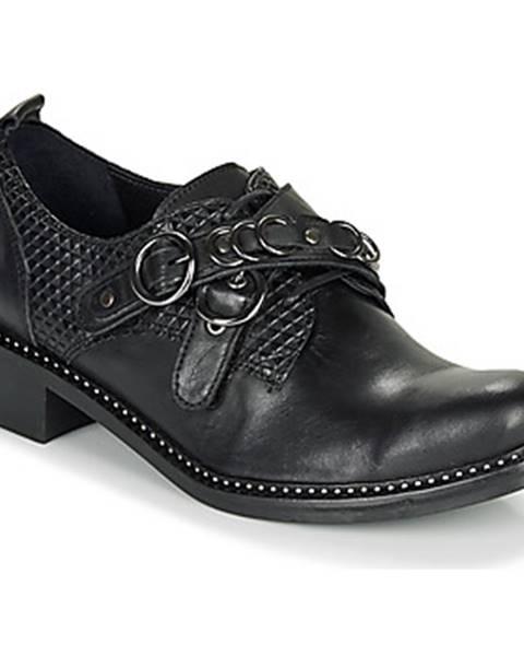 Čierne topánky Regard