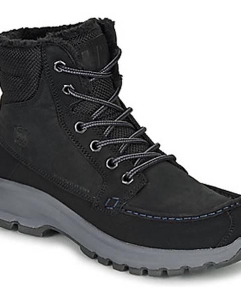 Čierne topánky Helly Hansen