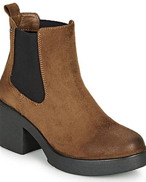 Hnedé topánky MTNG