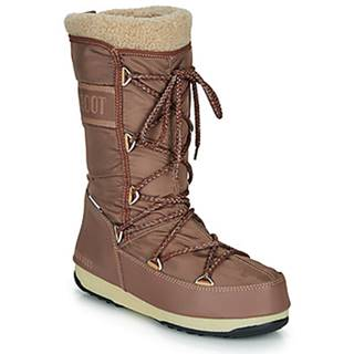 Obuv do snehu Moon Boot  MOON BOOT MONACO WOOL WP