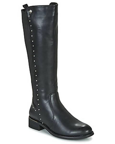 Čierne čižmy LPB Shoes