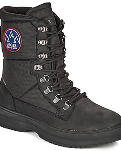 Čierne topánky Aigle