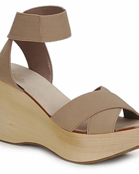 Hnedé sandále Belle by Sigerson Morrison