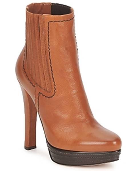 Hnedé topánky Sebastian