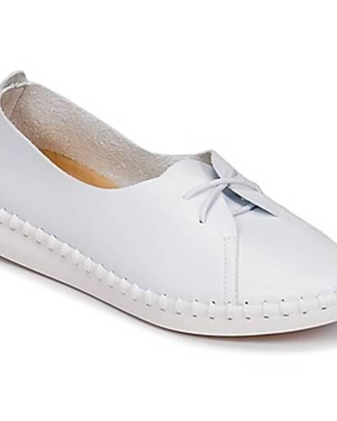 Biele topánky Les Petites Bombes