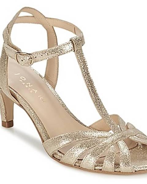 Zlaté sandále Jonak