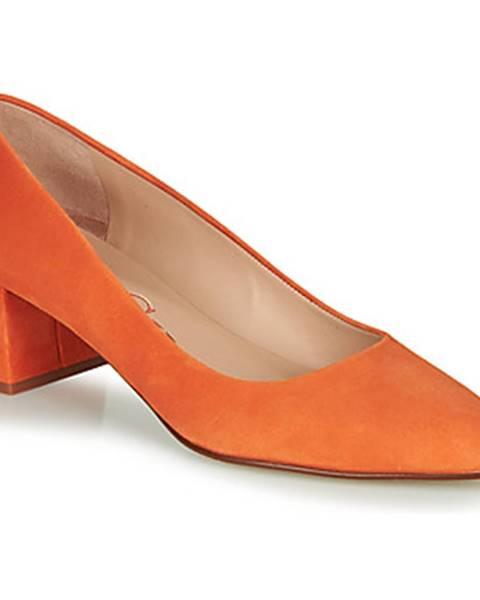 Oranžové lodičky Paco Gil