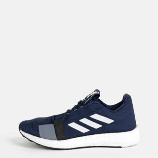 Modré pánske tenisky adidas Performance Senseboost Go