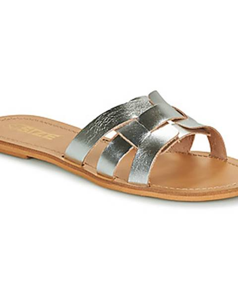 Strieborné topánky So Size