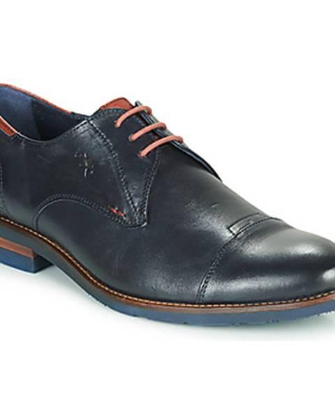 Modré topánky Fluchos