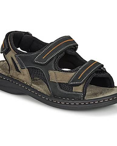 Hnedé športové sandále Josef Seibel