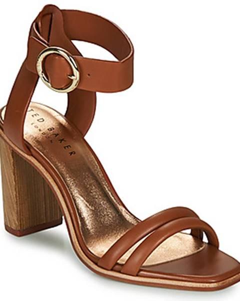 Hnedé sandále Ted Baker