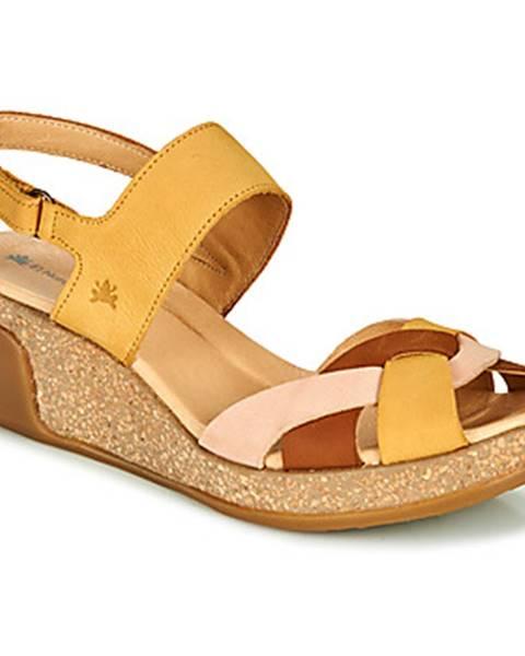 Žlté sandále El Naturalista