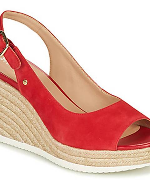 Červené sandále Geox