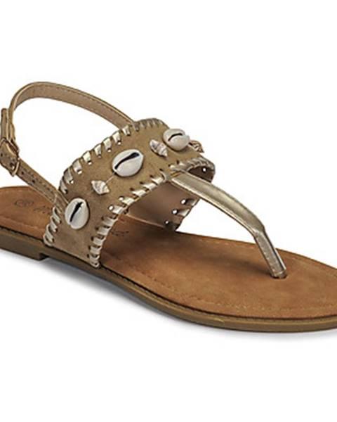 Béžové topánky Moony Mood