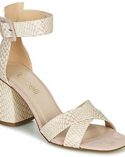 Biele sandále Fericelli