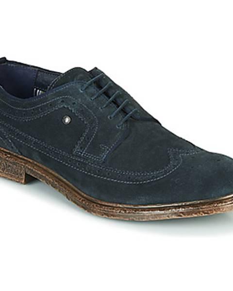 Modré topánky Base London