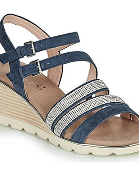 Modré sandále Caprice
