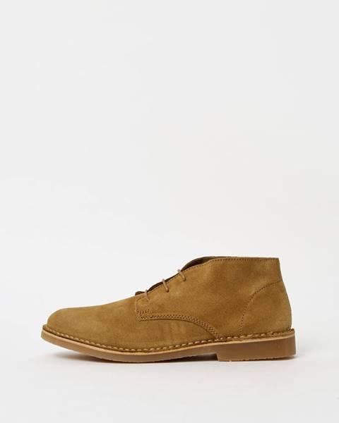 Horčicové topánky Selected Homme