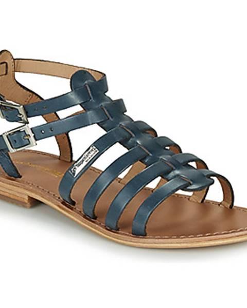 Modré sandále Les Tropéziennes par M Belarbi