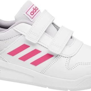 adidas - Biele tenisky na suchý zips Adidas Vector C