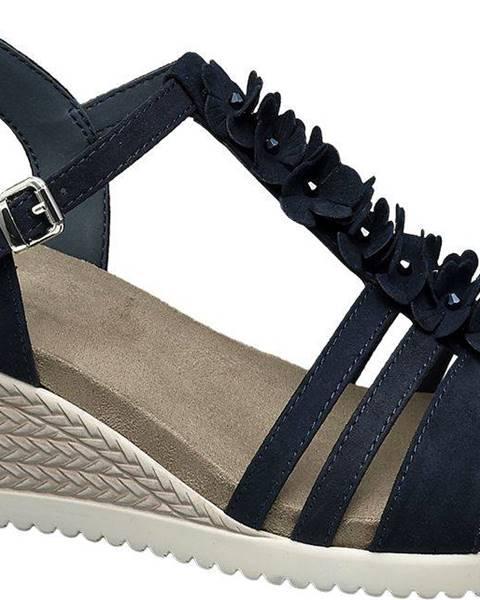 Tmavomodré sandále Easy Street