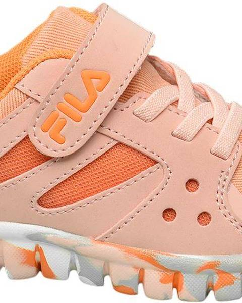 Oranžové tenisky Fila