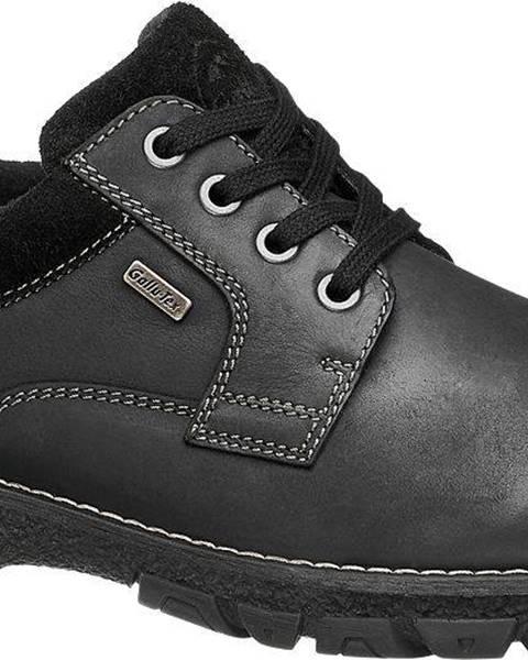Čierne topánky Gallus