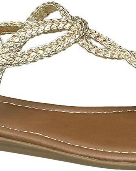 Zlaté sandále Graceland