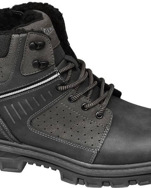 Sivé topánky Landrover