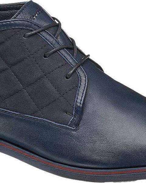 Tmavomodré topánky Wojas