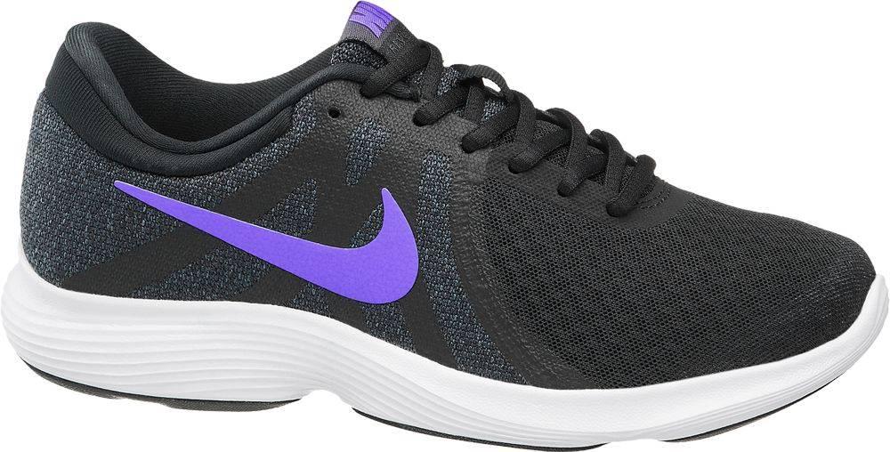 Nike NIKE - Čierne tenisky Nike Revolution 4