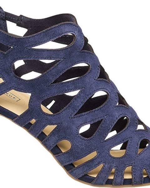 Modré sandále 5th Avenue
