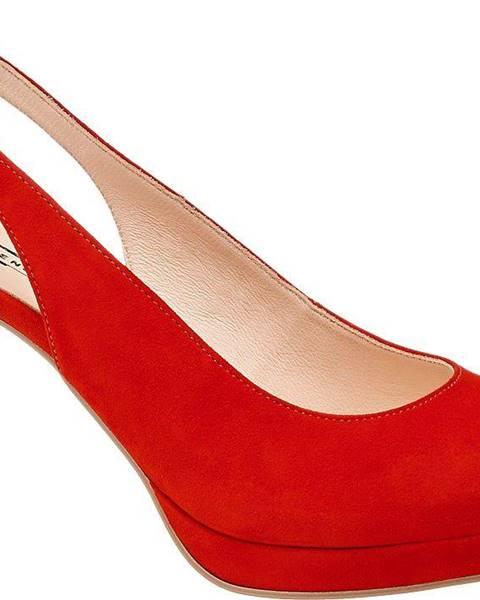 Červené lodičky 5th Avenue