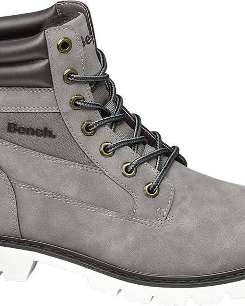 Sivé topánky Bench