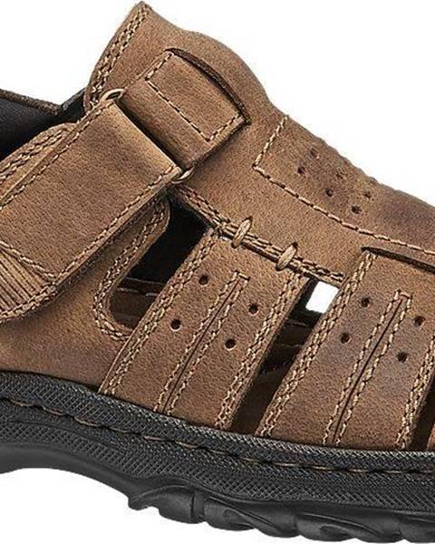 Hnedé sandále Claudio Conti