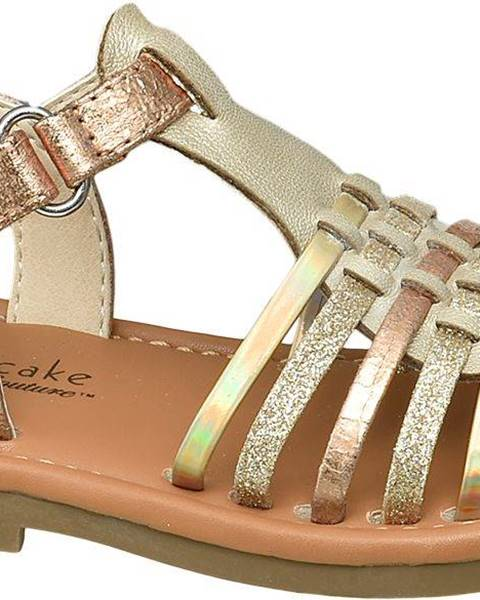Hnedé sandále Cupcake Couture