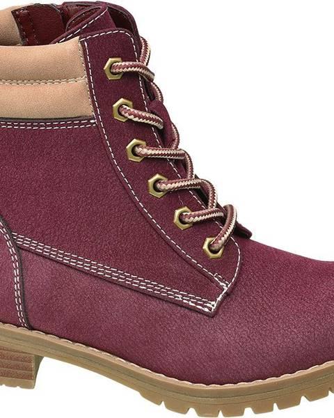 Bordové topánky Venice