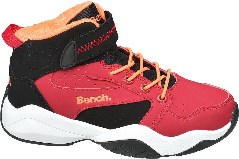 Bench Bench - Červené členkové tenisky Bench