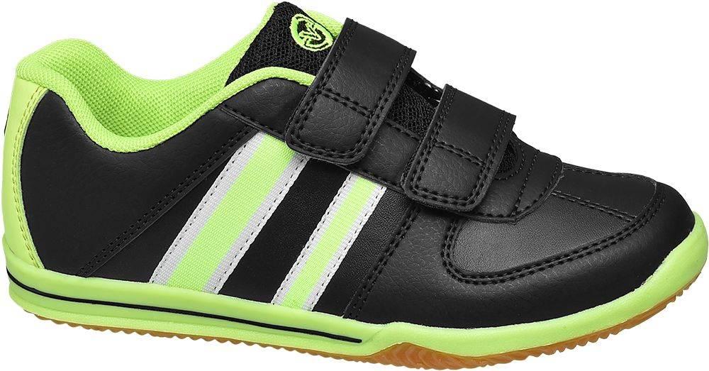 Victory Victory - Čierno-zelené tenisky na suchý zips Victory