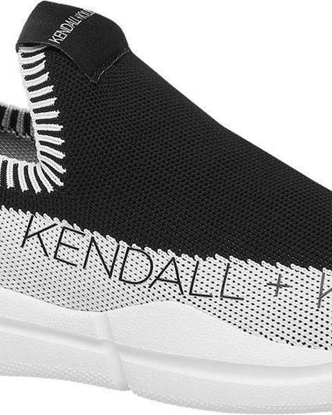 Čierne tenisky Kendall + Kylie