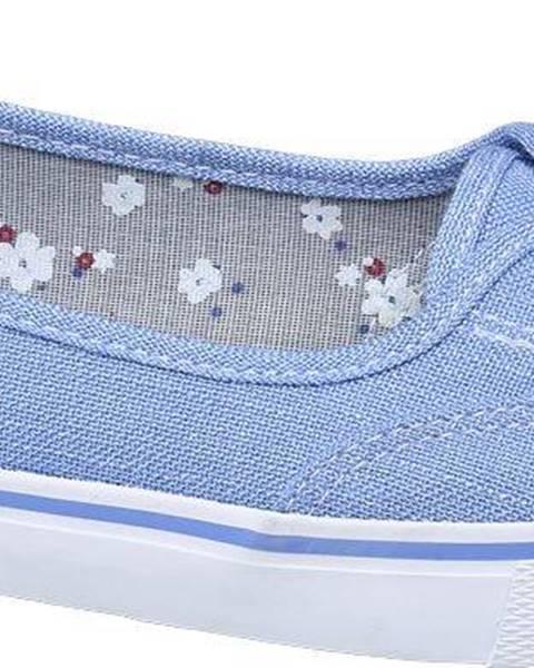 Modré espadrilky Vty